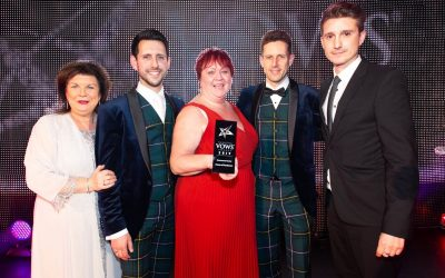 House of Henderson awarded best Groomswear Retailer at 2019 Scottish Vows Awards