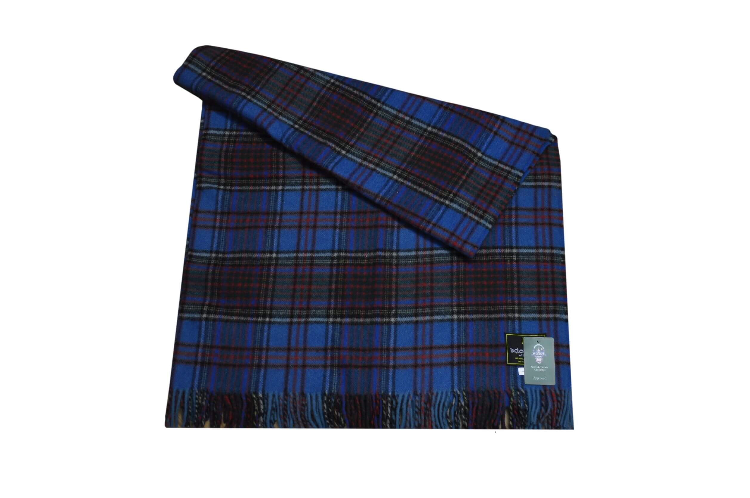 Anderson Clan Tartan Rug Throw