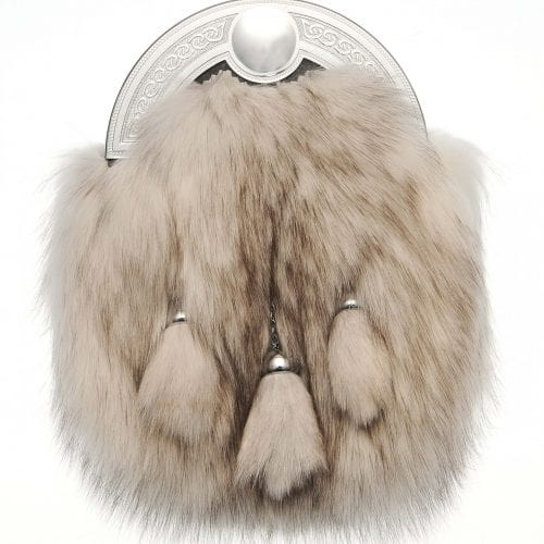 Arctic Fox Dress Sporran