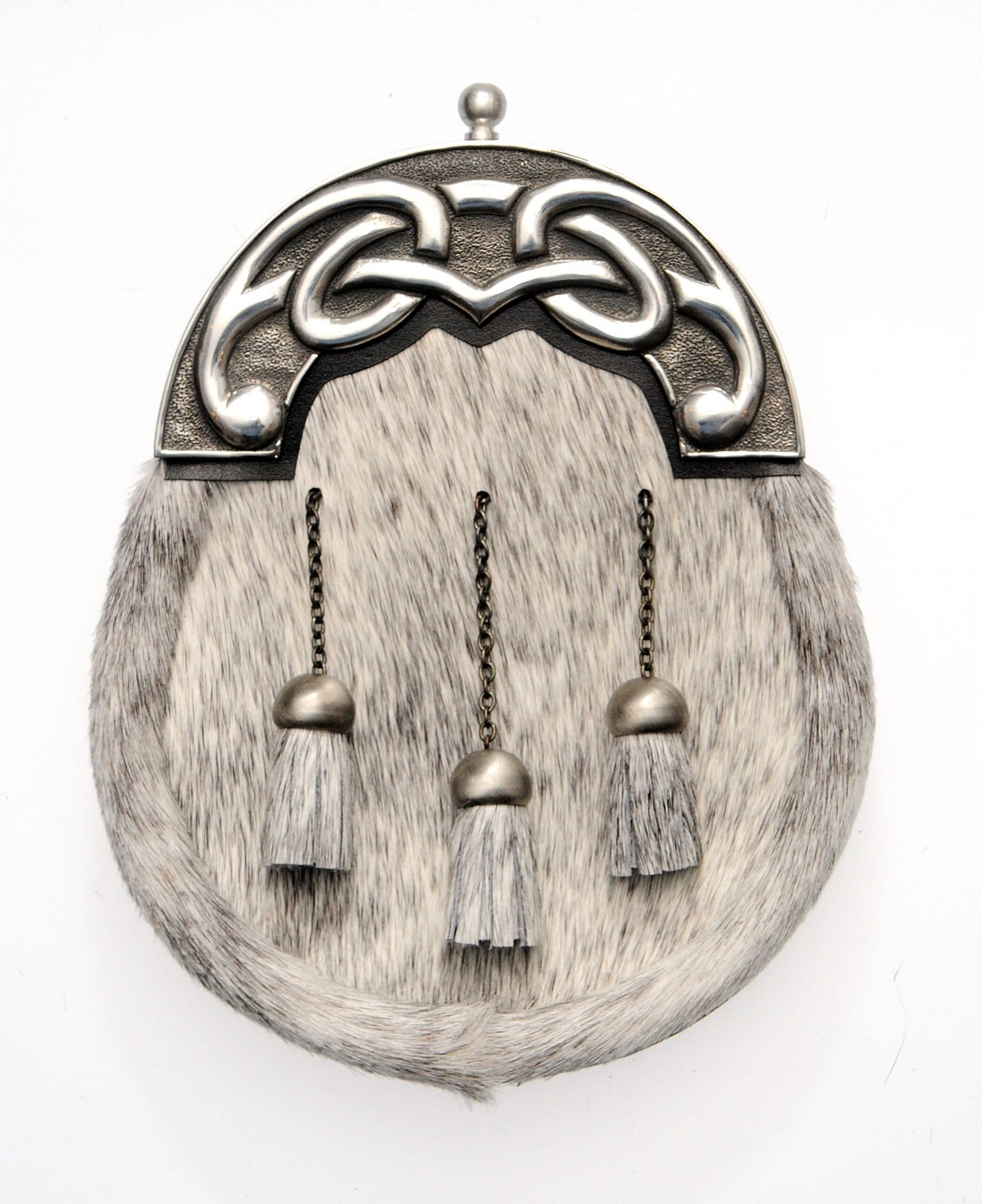 Dress Sporran Large Knot Design Cantle