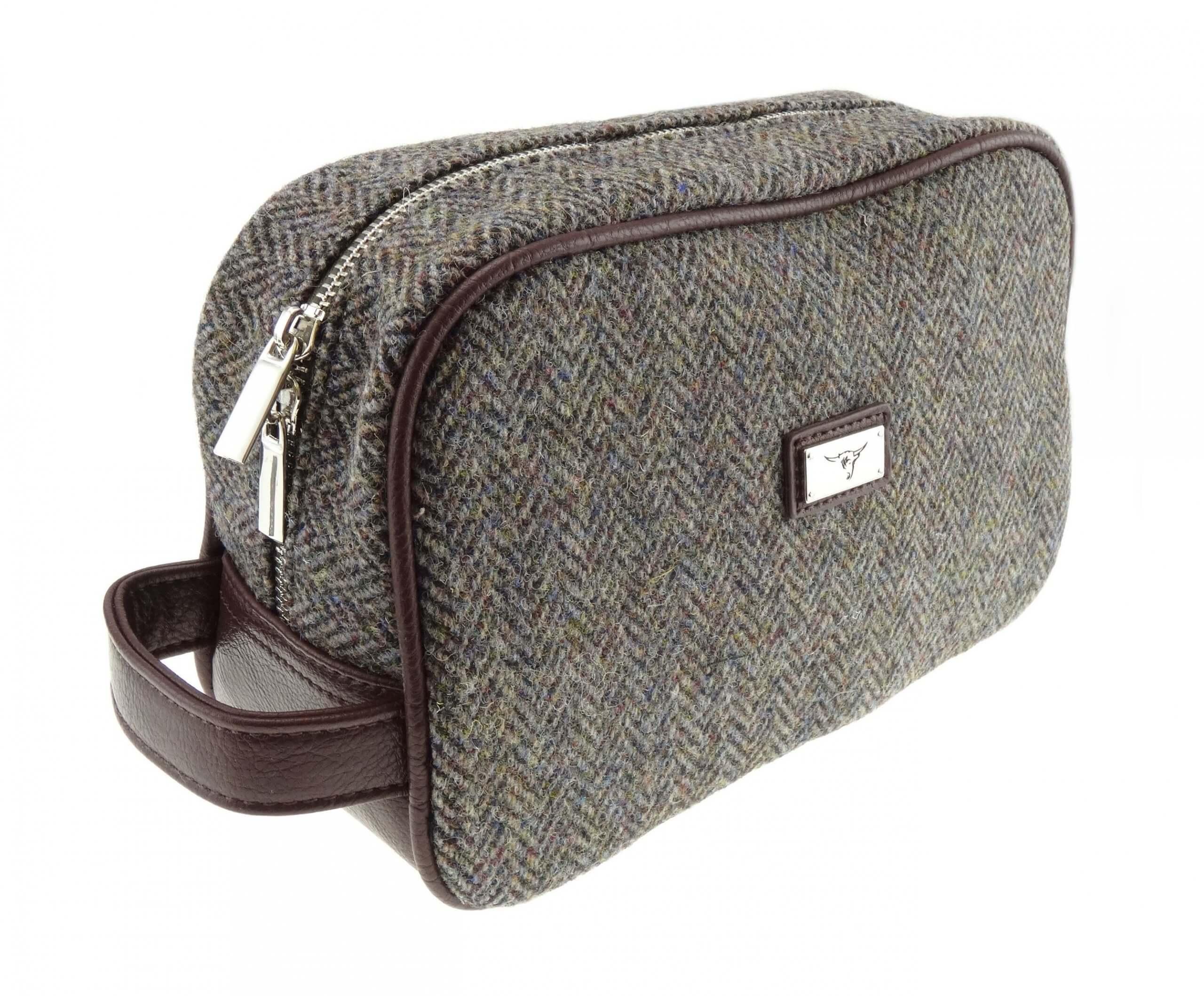 Harris Tweed Wash Bag LB2102-COL7