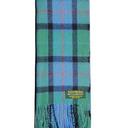 Flower of Scotland Lambswool Tartan Scarf