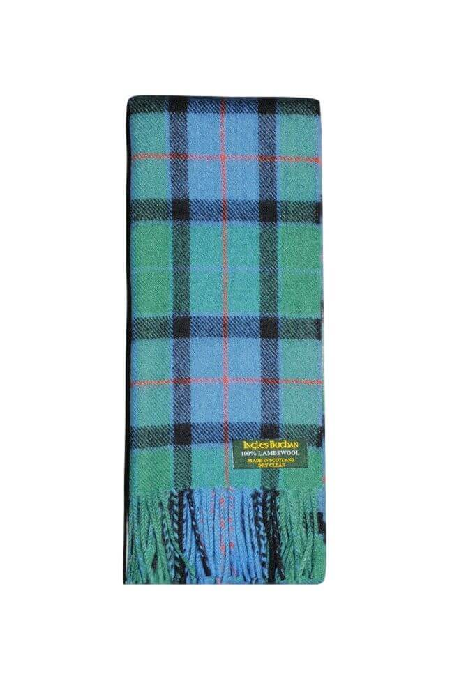 Flower of Scotland Lambswool Tartan Scarf