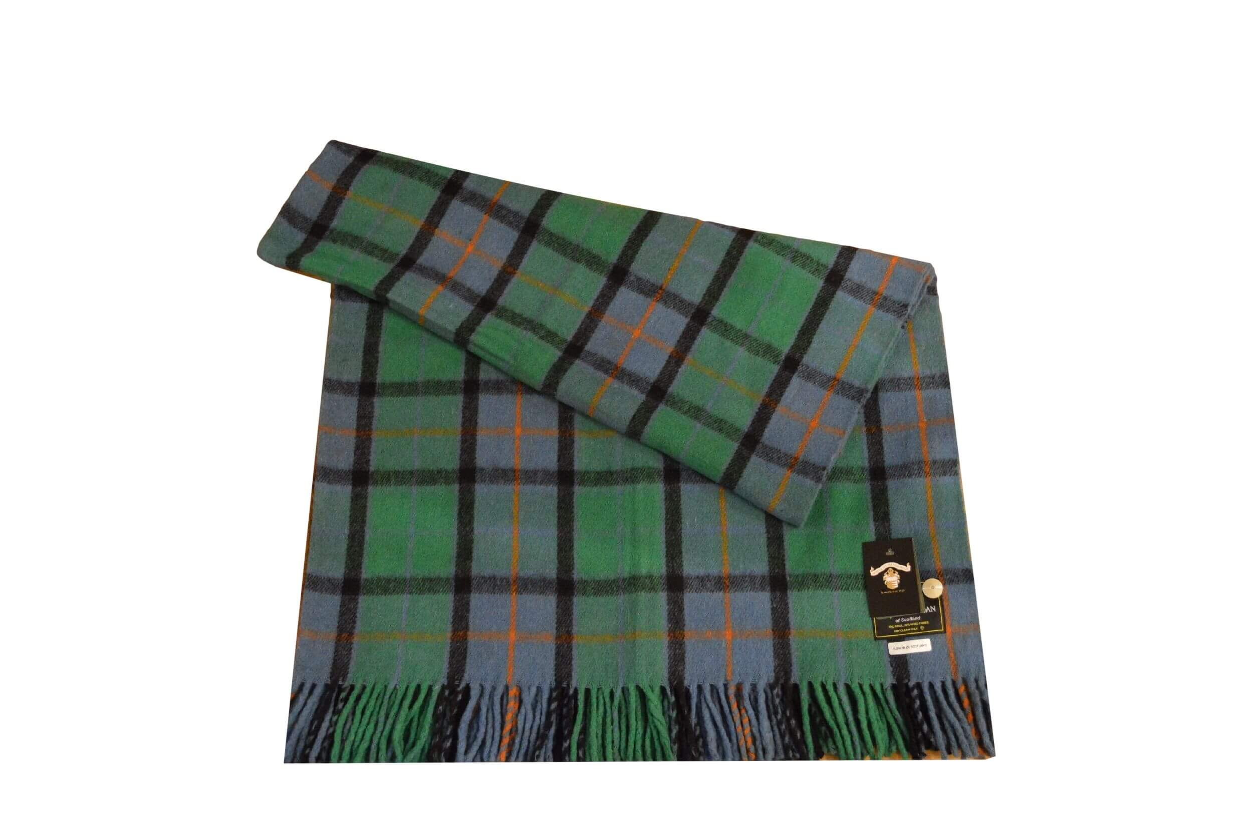 Flower of Scotland Rug Throw