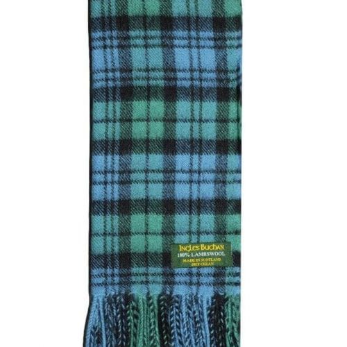 Campbell Ancient Lambswool Tartan Scarf