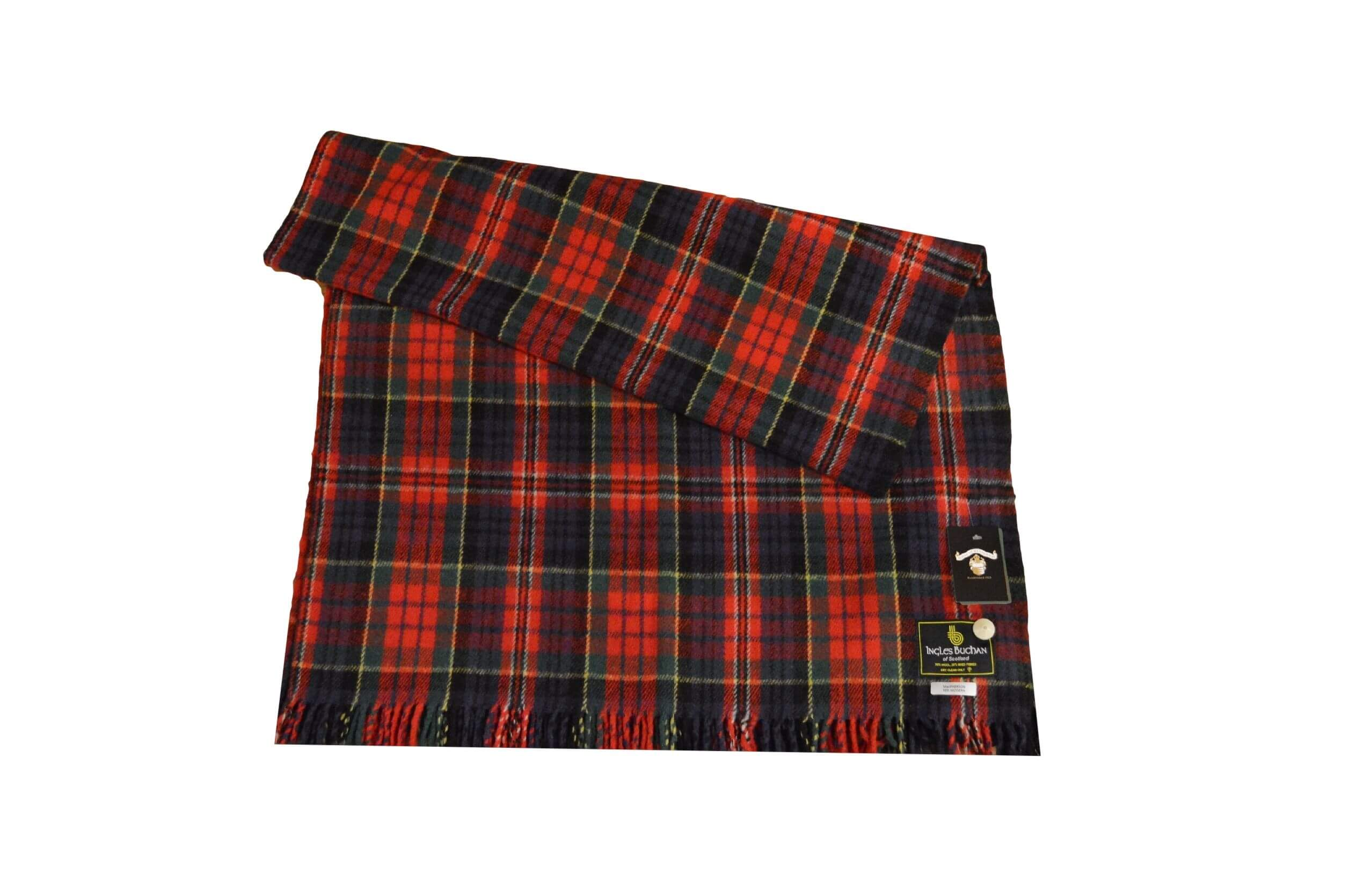 McPherson Tartan Rug Throw