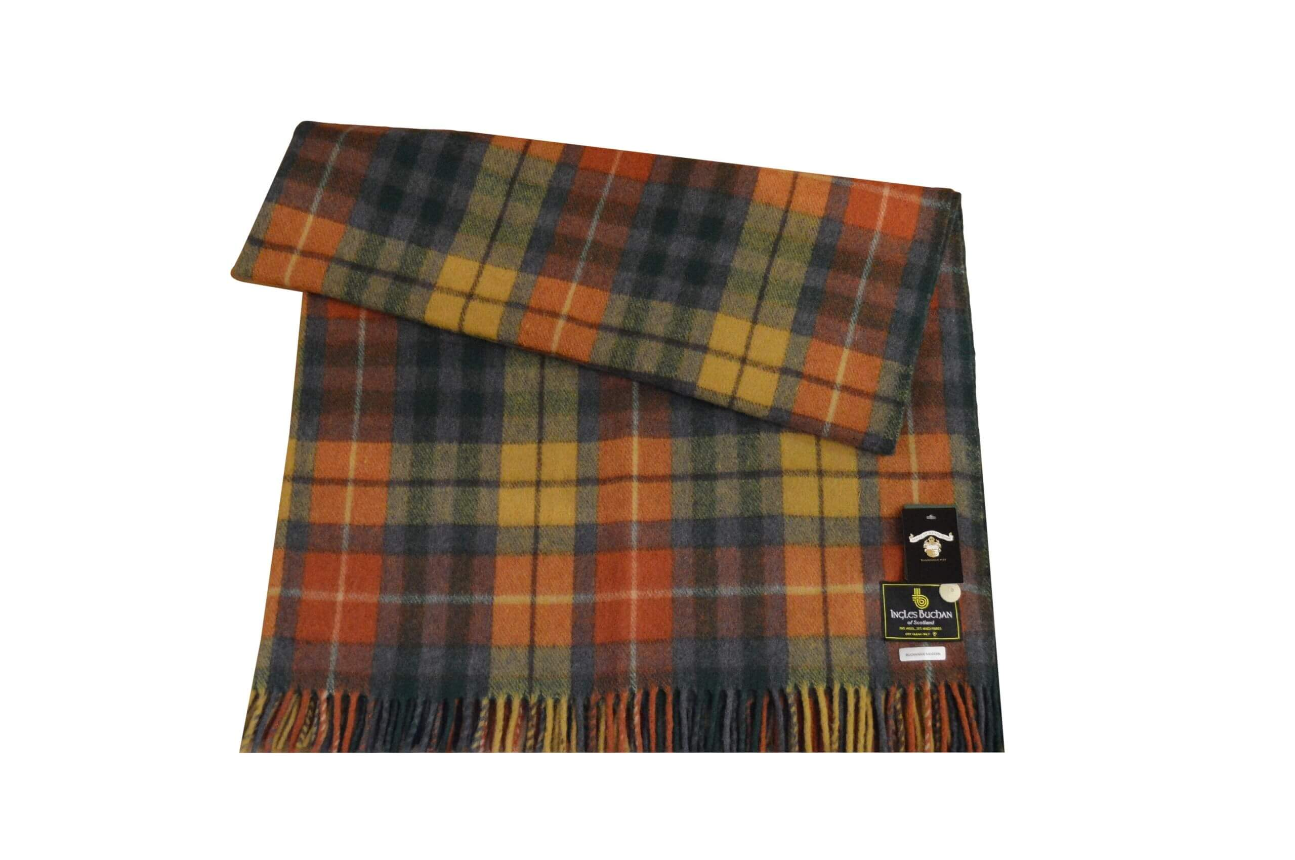 Buchanan Antique Tartan Rug Throw