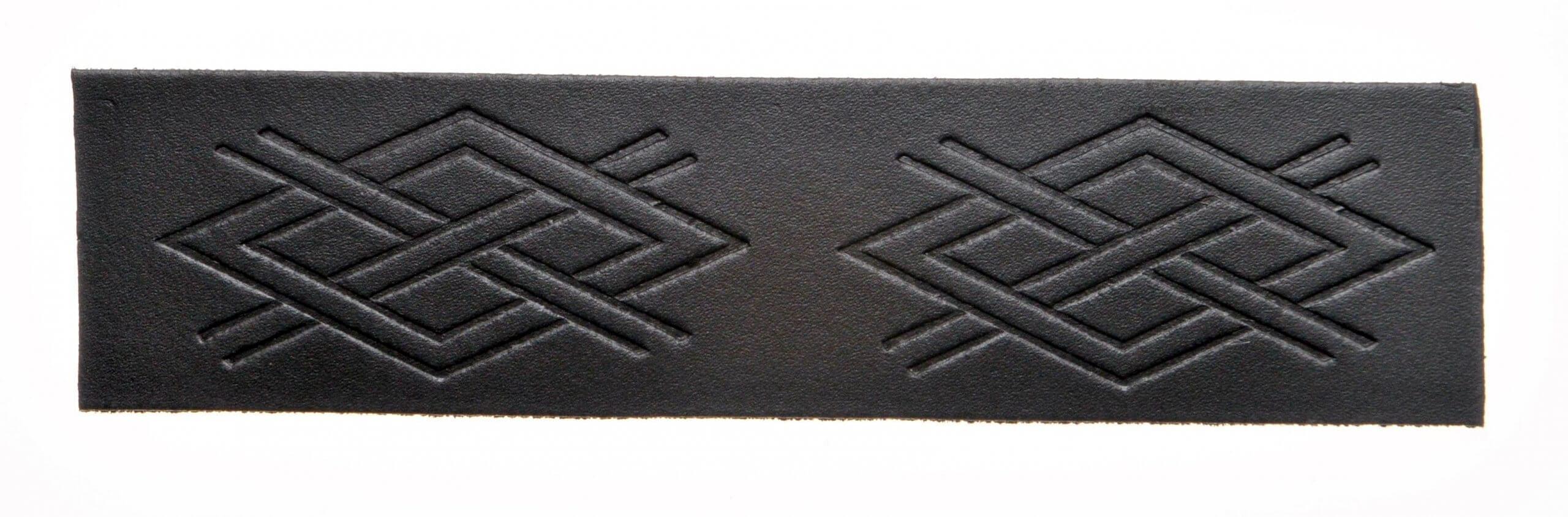 Kilt Belt - Celtic Cris Cross Embossed