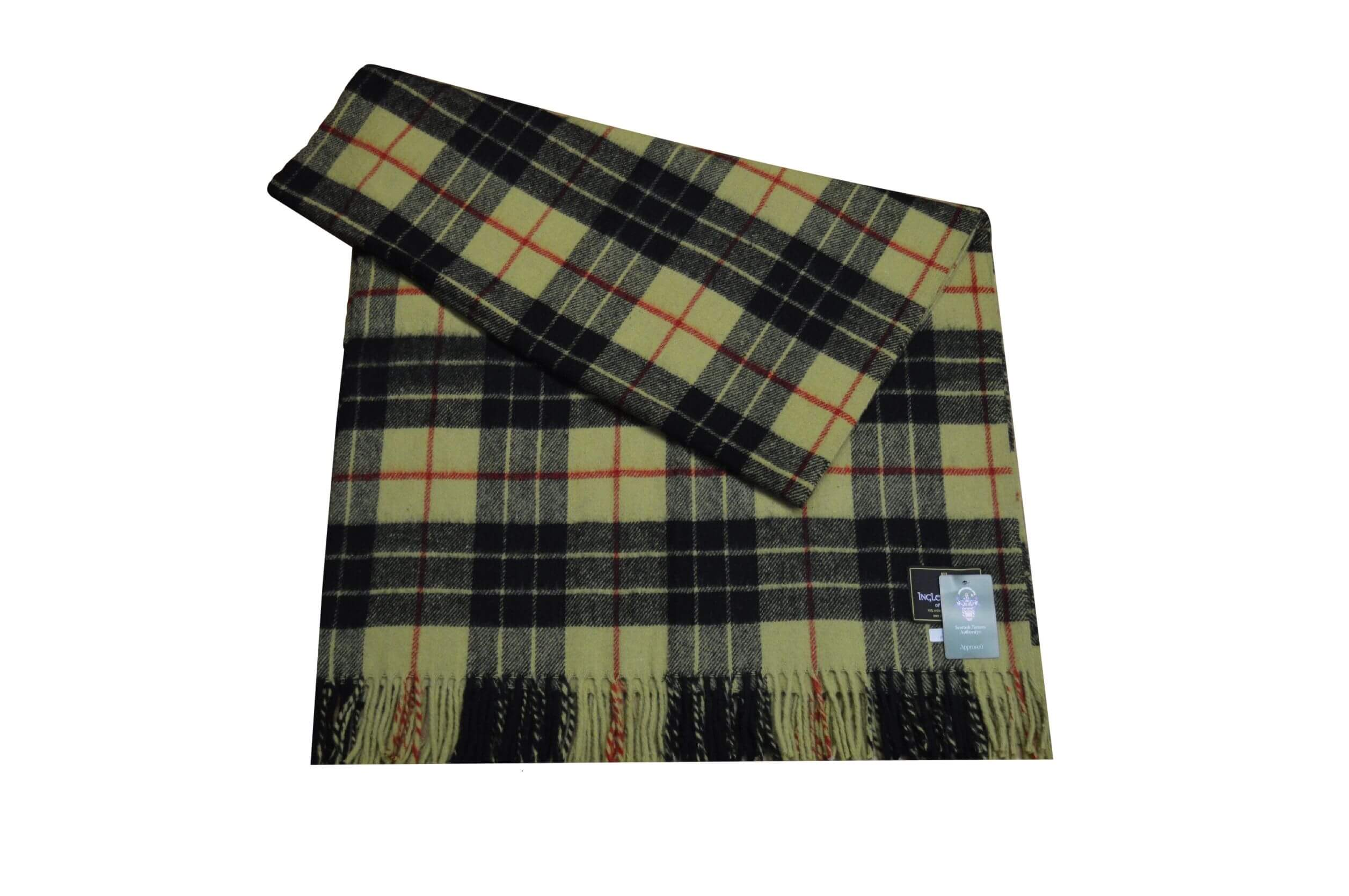 McLeod Tartan Rug Throw