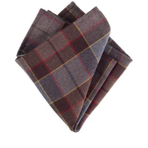 Outlander Fraser Tartan Pocket Square