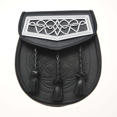 Black Leather Day Sporran