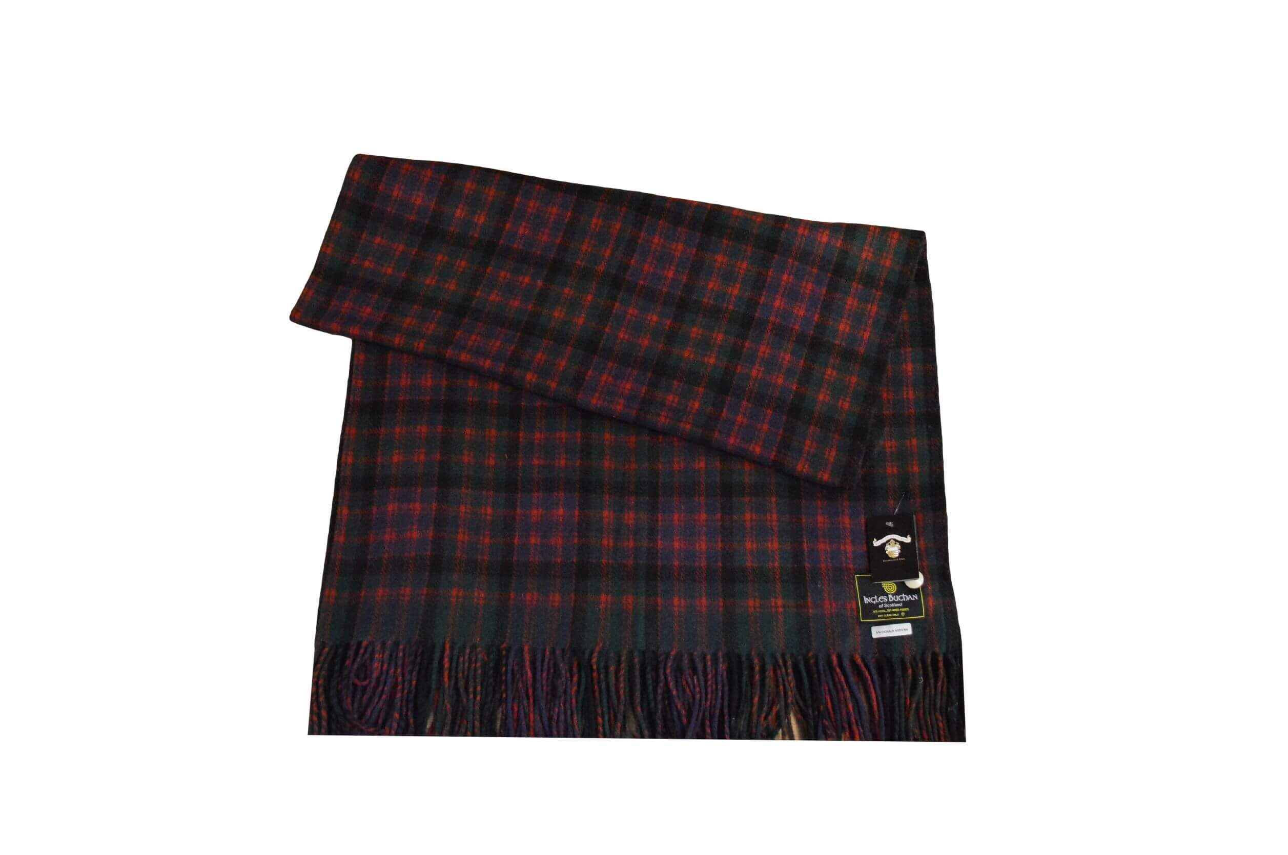 McDonald Tartan Rug Throw