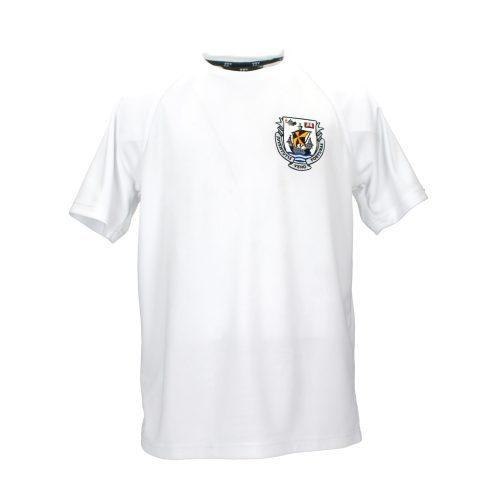 White Sports T Shirt