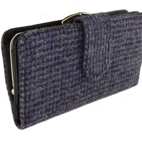 Harris Tweed Long Purse with Clasp LB2001-COL56