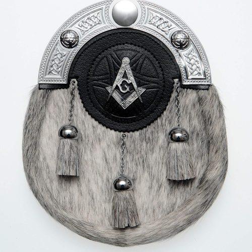 Leather Targe Masonic Dress Sporran