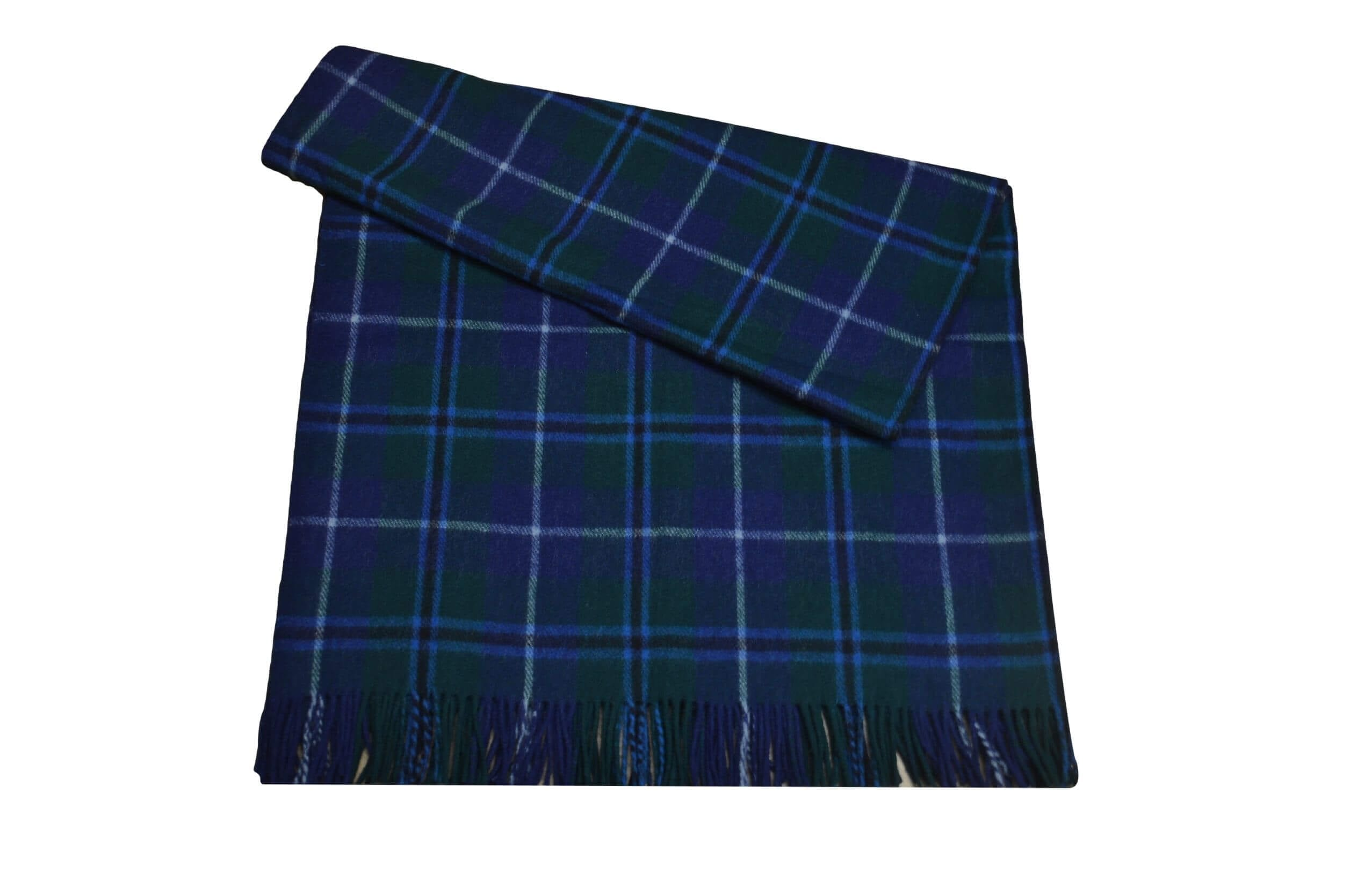 Douglas Tartan Rug Throw