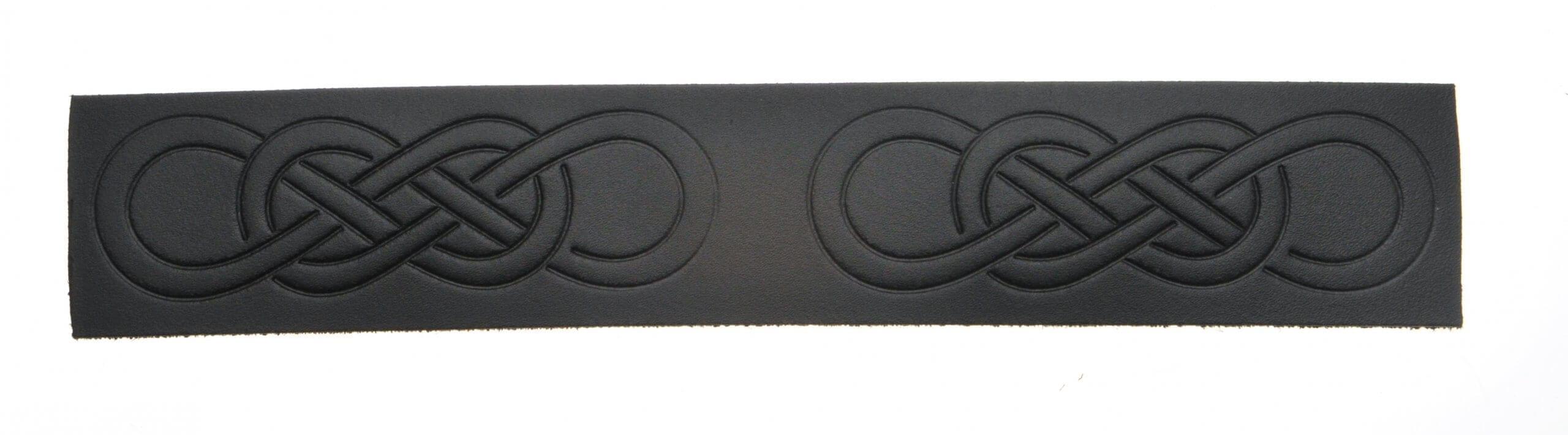 Velcro Belt - Embossed Celtic