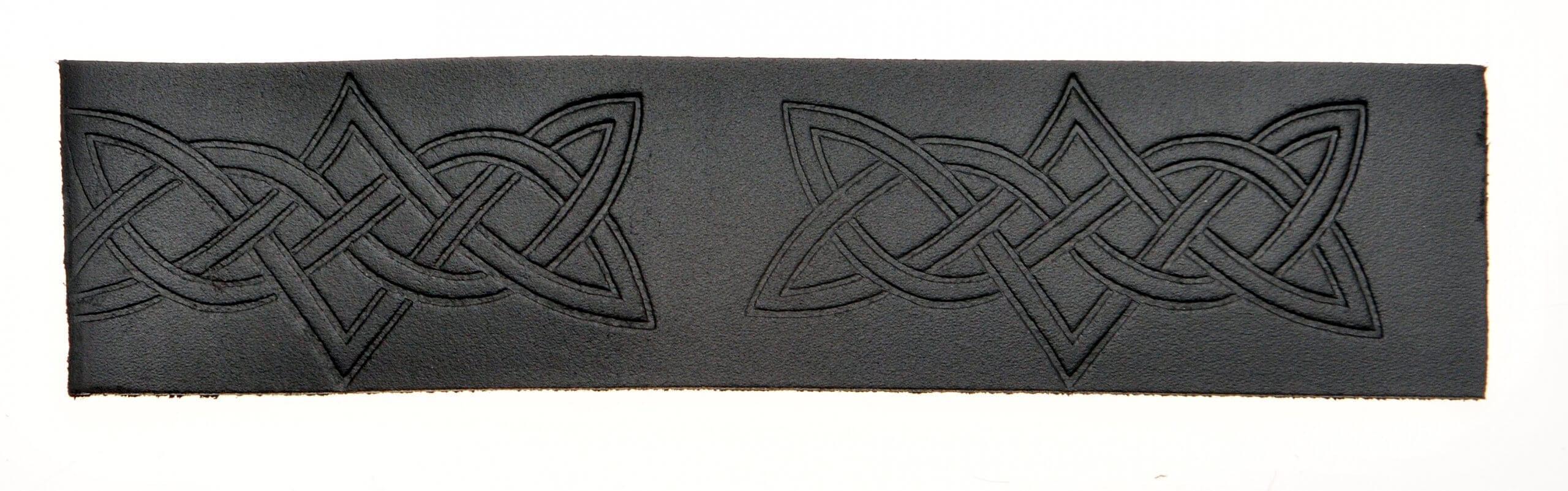 Velcro Belt - Embossed Interlink