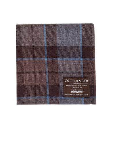 Outlander MacKenzie Tartan Pocket Square