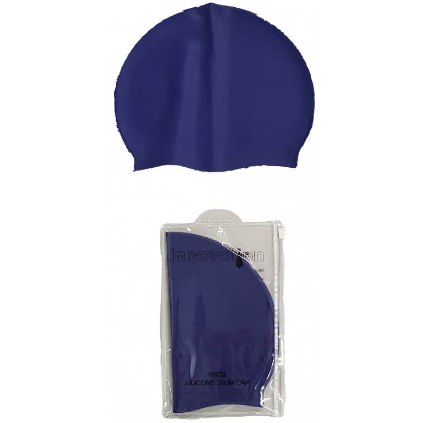 Navy Swim Cap