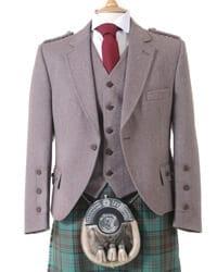 Russet Crail Kilt Jacket and Waistcoat