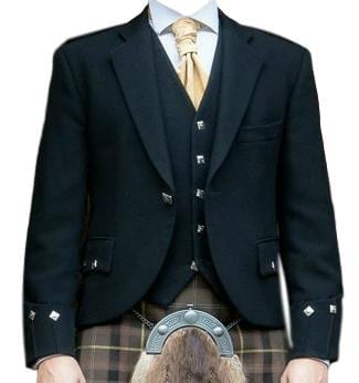 Evening Argyll Kilt Jacket and Waistcoat