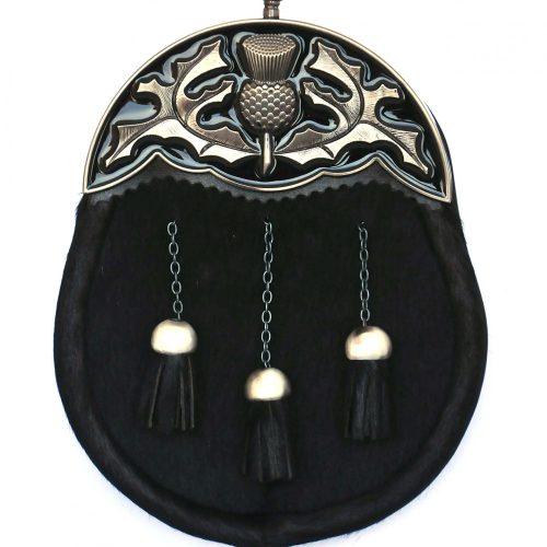 WES12 Antique Black Enamel