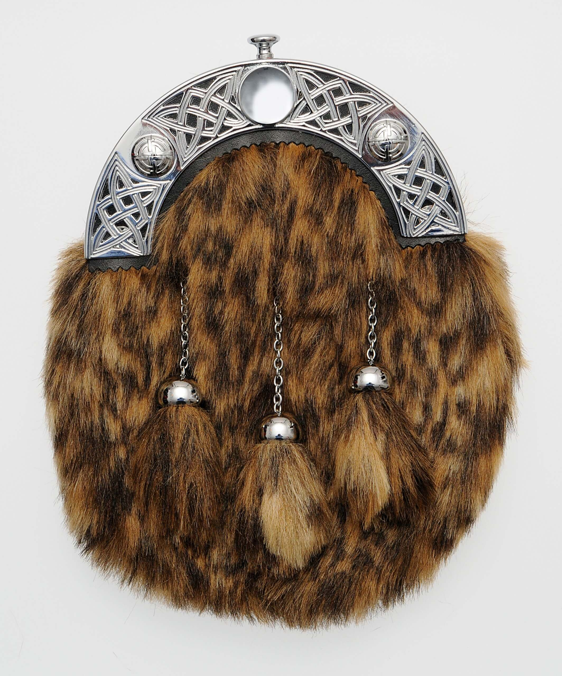 Dress Synthetic Fur Sporran