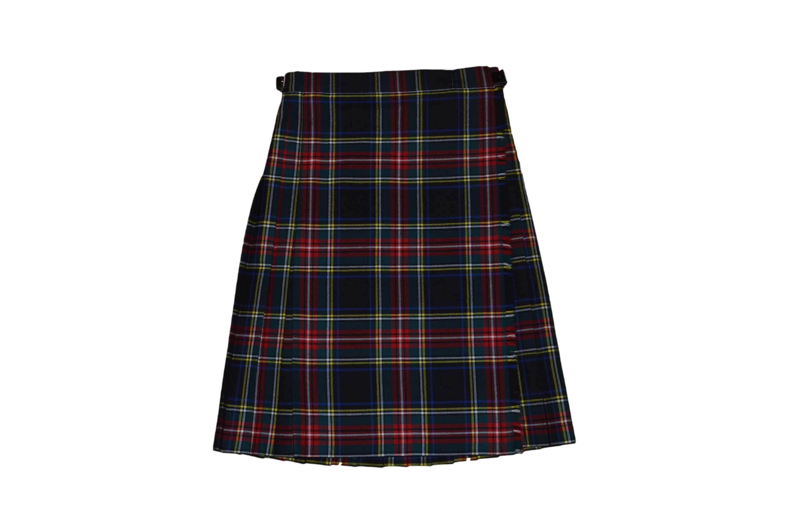 Black Stewart Kid's Kilt