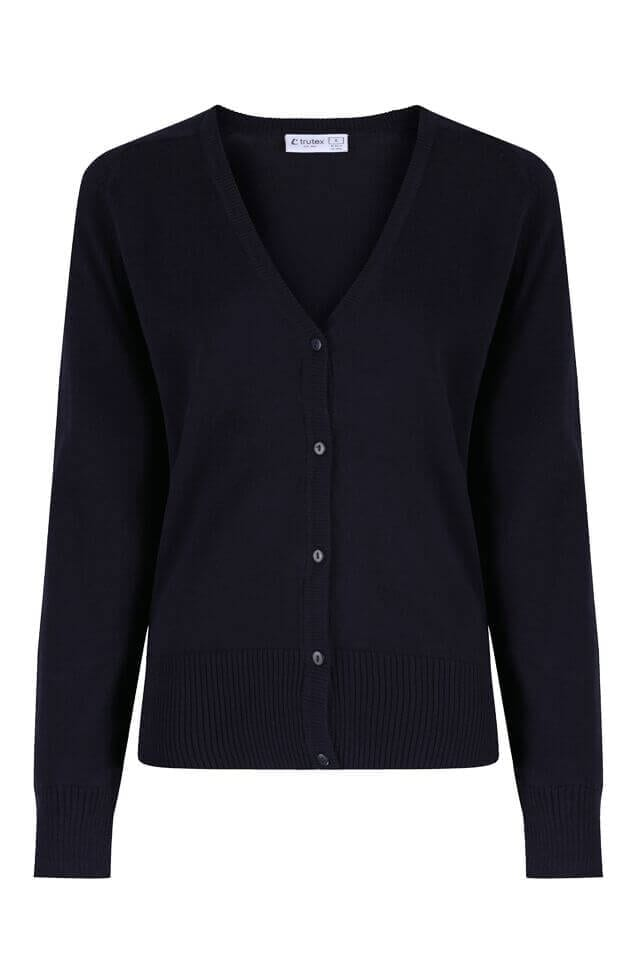 Girls Navy Cardigan