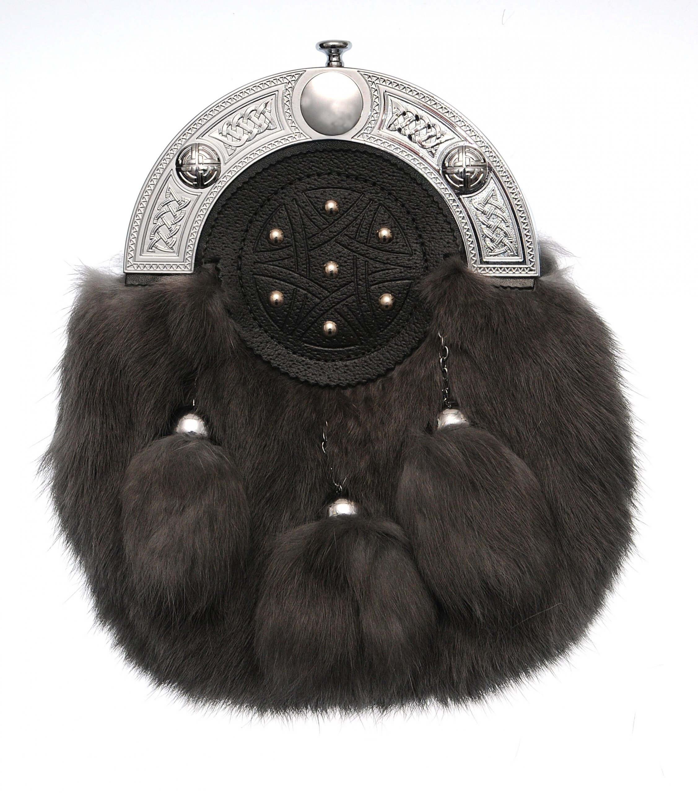 Dress Smokie Rabbit Fur Sporran