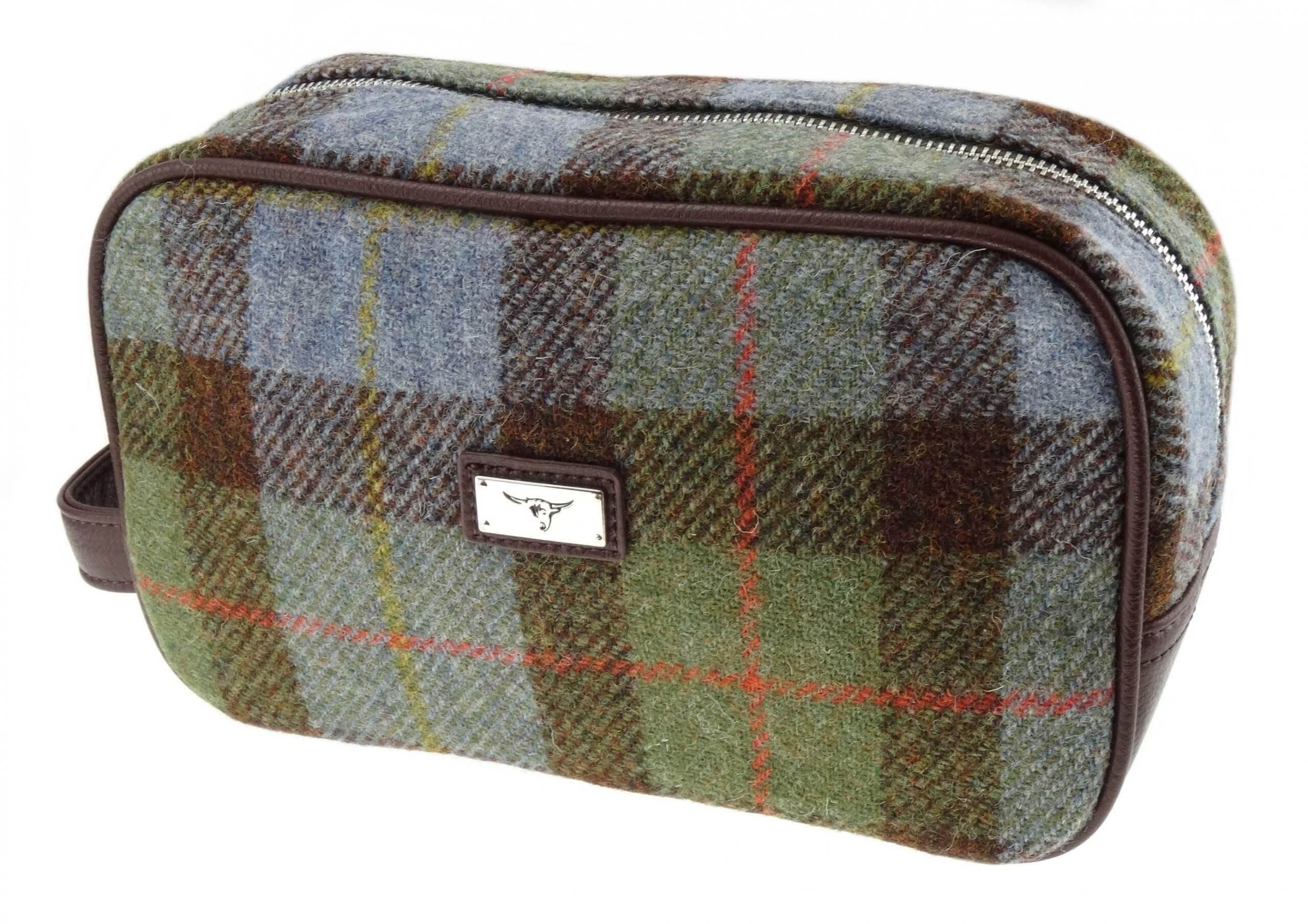 Harris Tweed Wash Bag LB2102-COL15