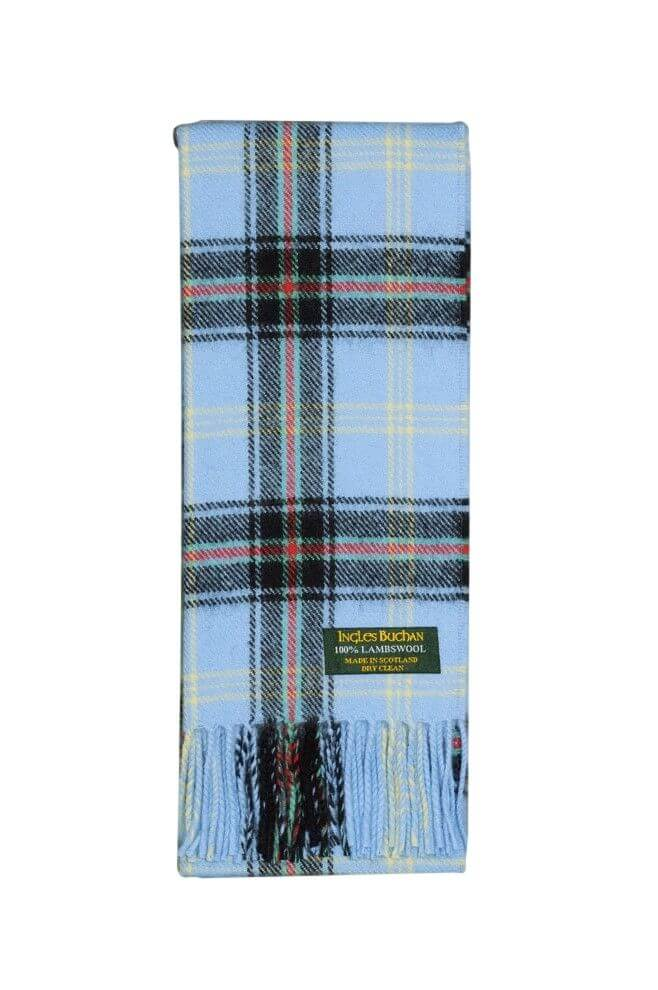 Bell of the Borders Lambswool Tartan Scarf