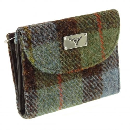 Harris Tweed Zip Purse with Card Section LB2002-COL15