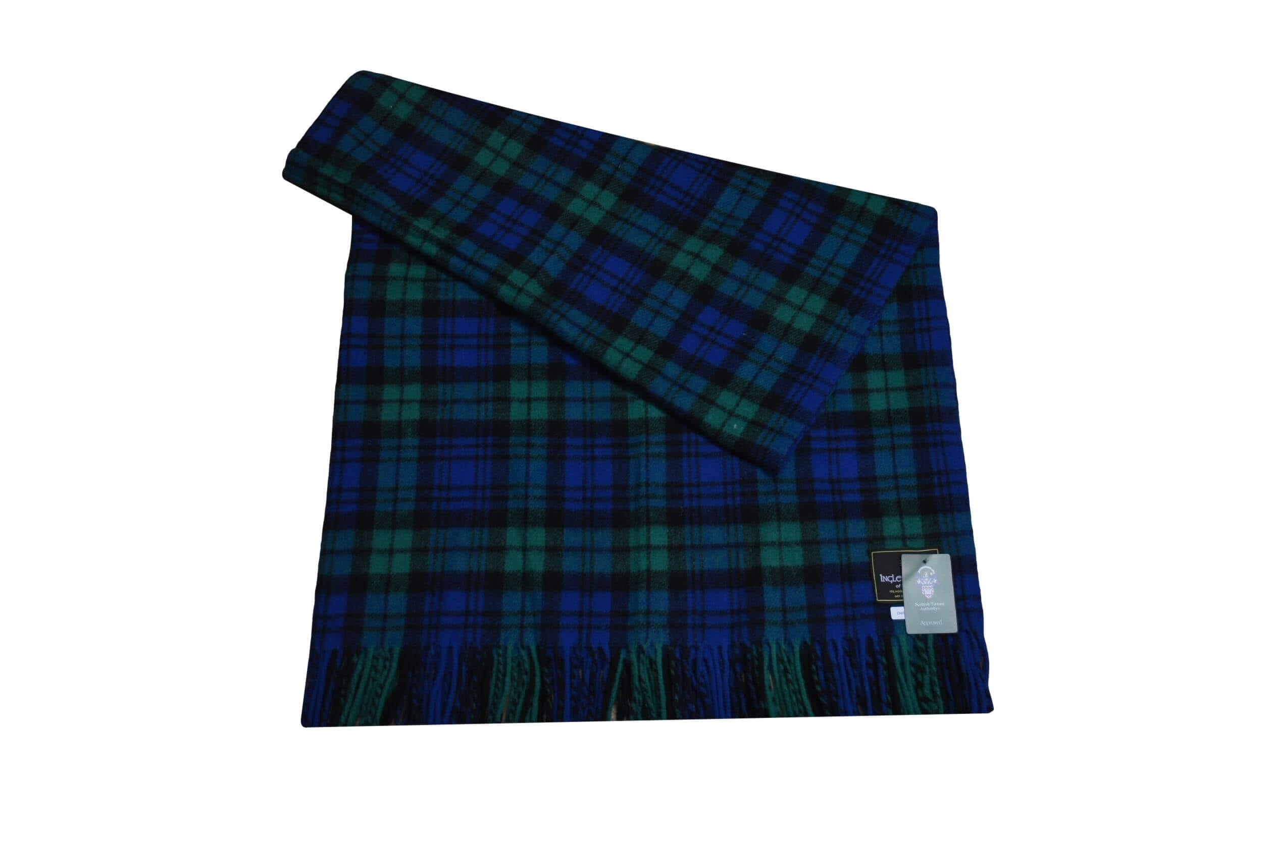 Campbell Tartan Rug Throw