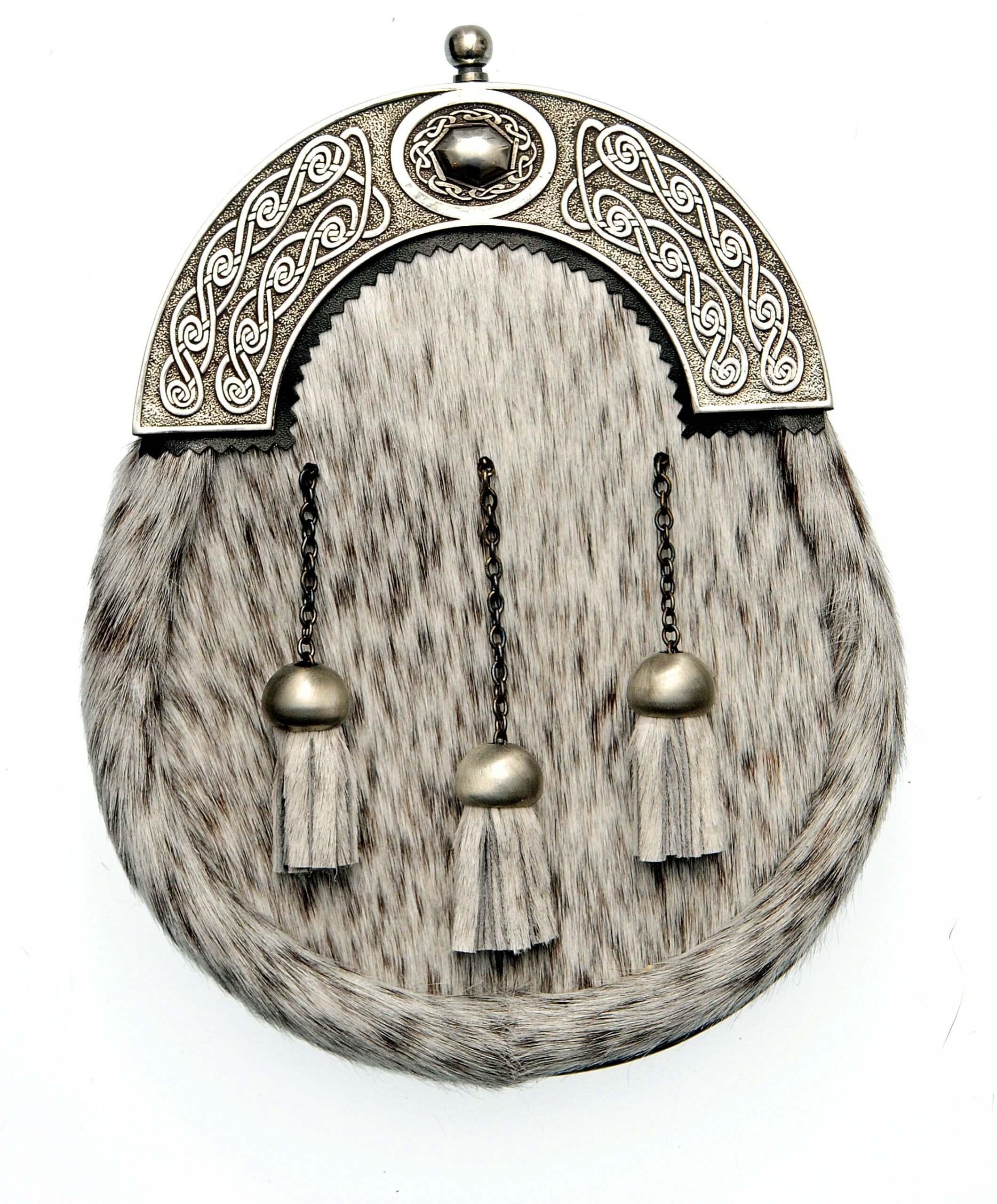 Dress Sporran Oval Cantle