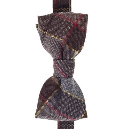 Outlander Fraser Tartan Bow Tie