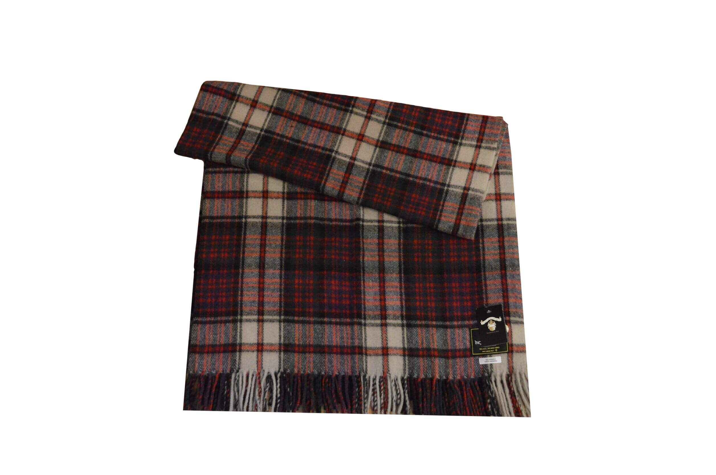 McDonald Dress Tartan Rug Throw