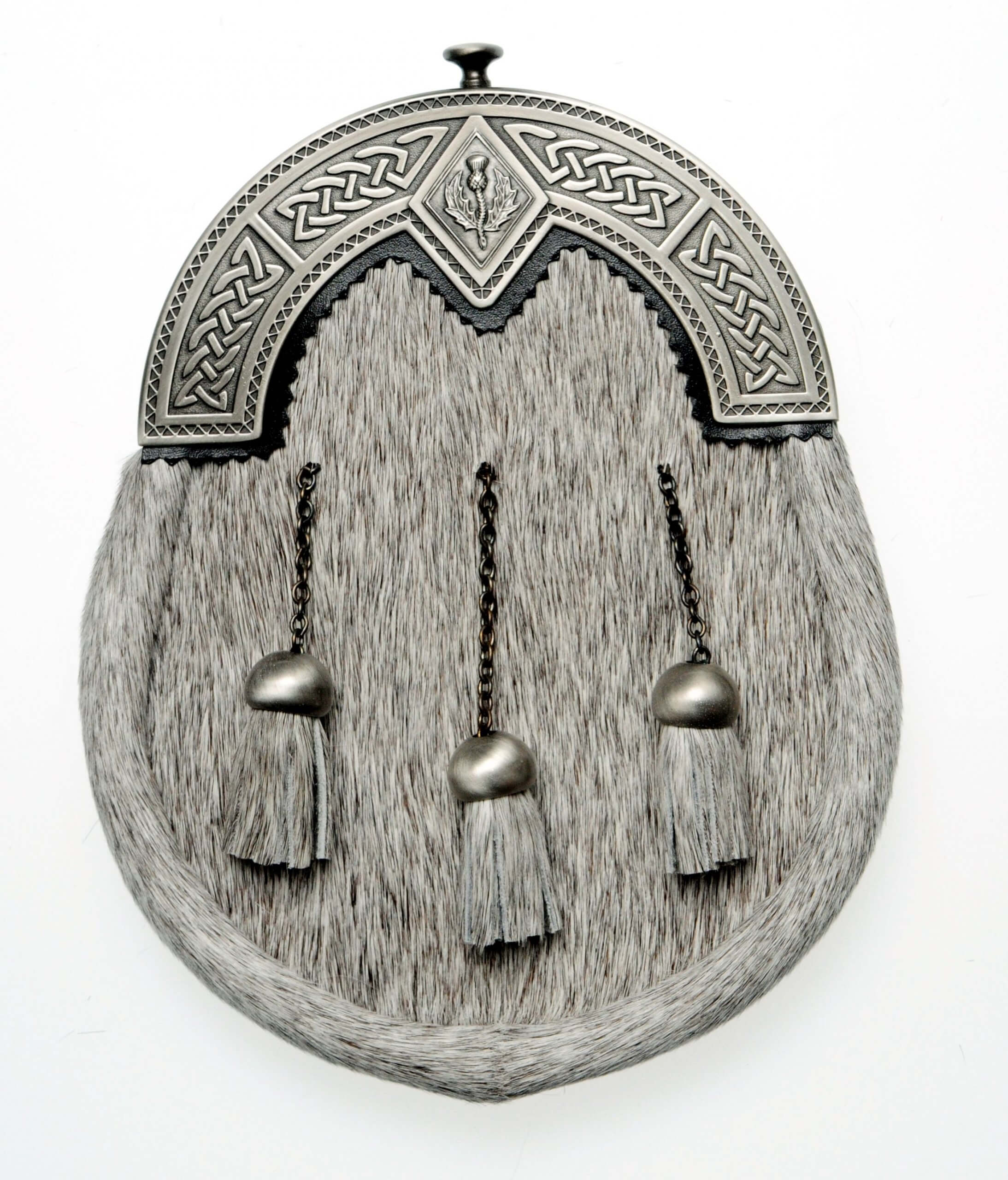 Thistle Dress Sporran Antique